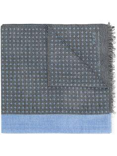 двухцветный шарф Fefè