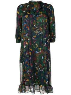 струящееся платье с цветочным принтом Roseanna