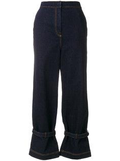 расклешенные джинсы с высокой талией Fendi