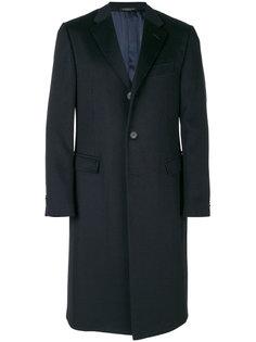 классическое однобортное пальто Corneliani