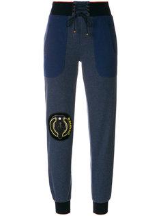 спортивные брюки с нашивками Mr & Mrs Italy