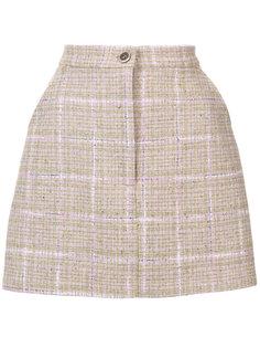 твидовая мини юбка Natasha Zinko