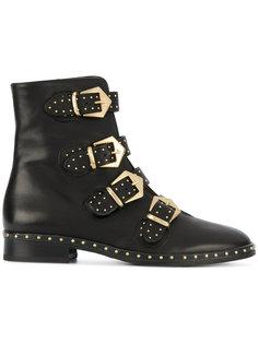 ботинки с ремешками Marc Ellis