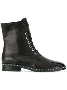 ботинки на шнуровке Marc Ellis