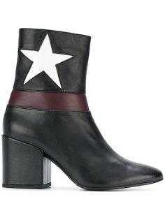 ботинки с нашивками звезд на каблуке Marc Ellis
