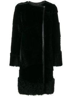 пальто на молнии Boss Hugo Boss