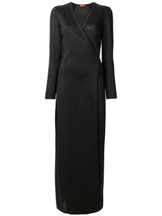 вечернее платье с V-образным вырезом Missoni