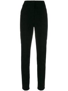 брюки строгого кроя с высокой талией Saint Laurent