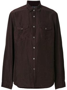 рубашка с нагрудными карманами John Varvatos