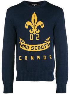 свитер Bad Scouts Dsquared2