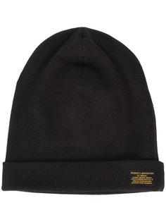шапка с нашивкой логотипа Maharishi
