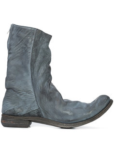 ботинки с потертой отделкой A Diciannoveventitre