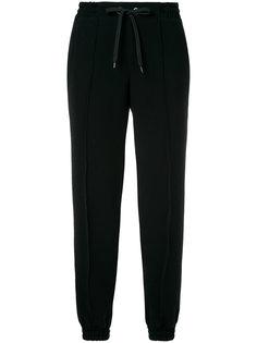 укороченные брюки с талией на шнурке Ermanno Scervino