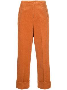 прямые вельветовые брюки En Route
