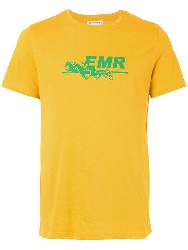 футболка с принтом-логотипом Éditions M.R