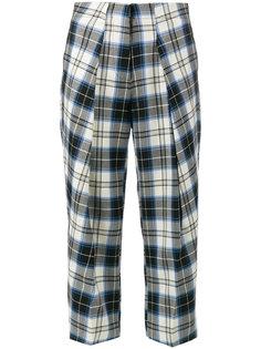клетчатые зауженные брюки Manzies Ashley Williams