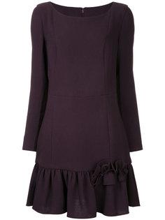 короткое платье со складками  Ingie Paris