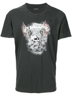 футболка с принтом Overcome