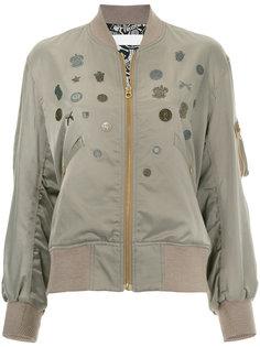 декорированная куртка-бомбер Roarguns
