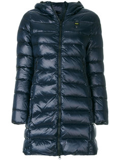 пуховая куртка с капюшоном Blauer