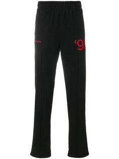 спортивные брюки с вышивкой  Misbhv