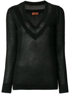свитер с V-образным вырезом Missoni
