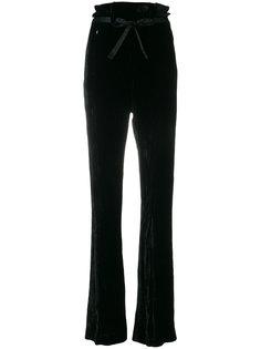 брюки с высокой талией и поясом Ann Demeulemeester
