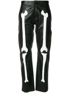 брюки с принтом Yang Li