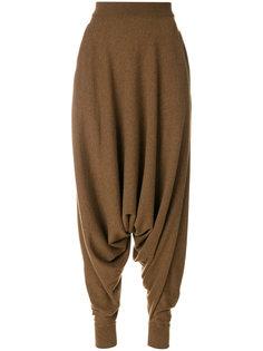 брюки с завышенной талией Agnona