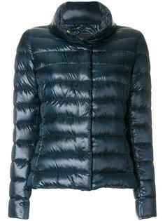 куртка-пуховик с горловиной-воронка Herno