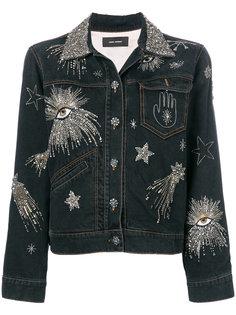 джинсовая куртка Eloise с вышивкой Isabel Marant