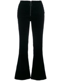 вельветовые расклешенные брюки Off-White