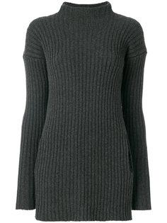 свитер-туника с вырезом под горло Kristensen Du Nord