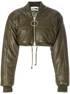укороченная куртка бомбер Off-White