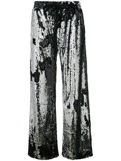 брюки-палаццо с пайетками Milly