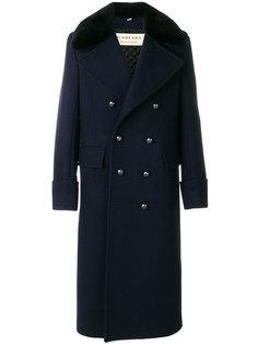 удлиненное классическое пальто Burberry