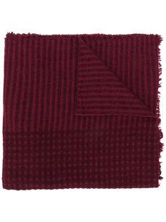 жаккардовый шарф в полоску Faliero Sarti