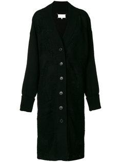 удлиненное пальто-кардиган Maison Margiela