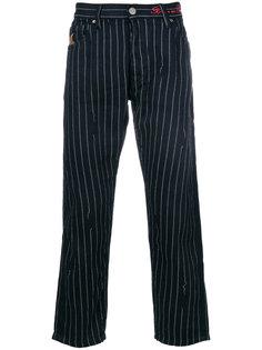брюки в тонкую полоску Vivienne Westwood Anglomania