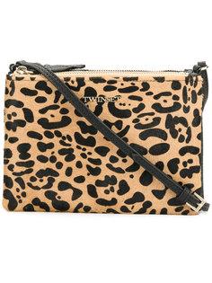 сумка на плечо с леопардовым узором Twin-Set