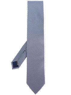 галстук с цветочным принтом Salvatore Ferragamo