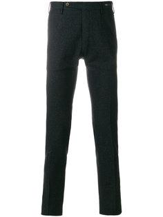 прямые трикотажные брюки Pt01