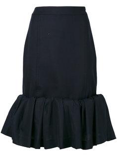 юбка с рюшами на подоле Jacquemus