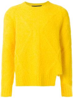 пушистый свитер Neil Barrett
