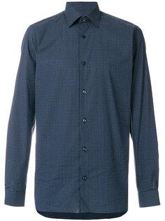 рубашка с мелким узором Z Zegna