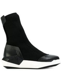 ботинки с носочной вставкой на платформе Cinzia Araia