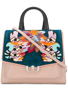 сумка-тоут с вышивкой Paula Cademartori