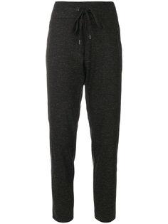 спортивные брюки с поясом на завязке Cambio
