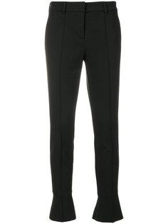укороченные брюки с расклешенными манжетами Cambio