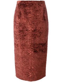 текстурированная юбка-карандаш Nº21